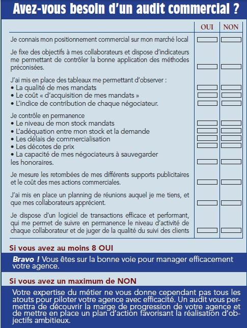 Audit commercial par Gérard Bornot