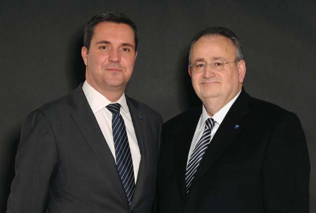 photo : Elix Rizkallah et Yann Jehanno, président et directeur exécutif de Laforet Immobilier