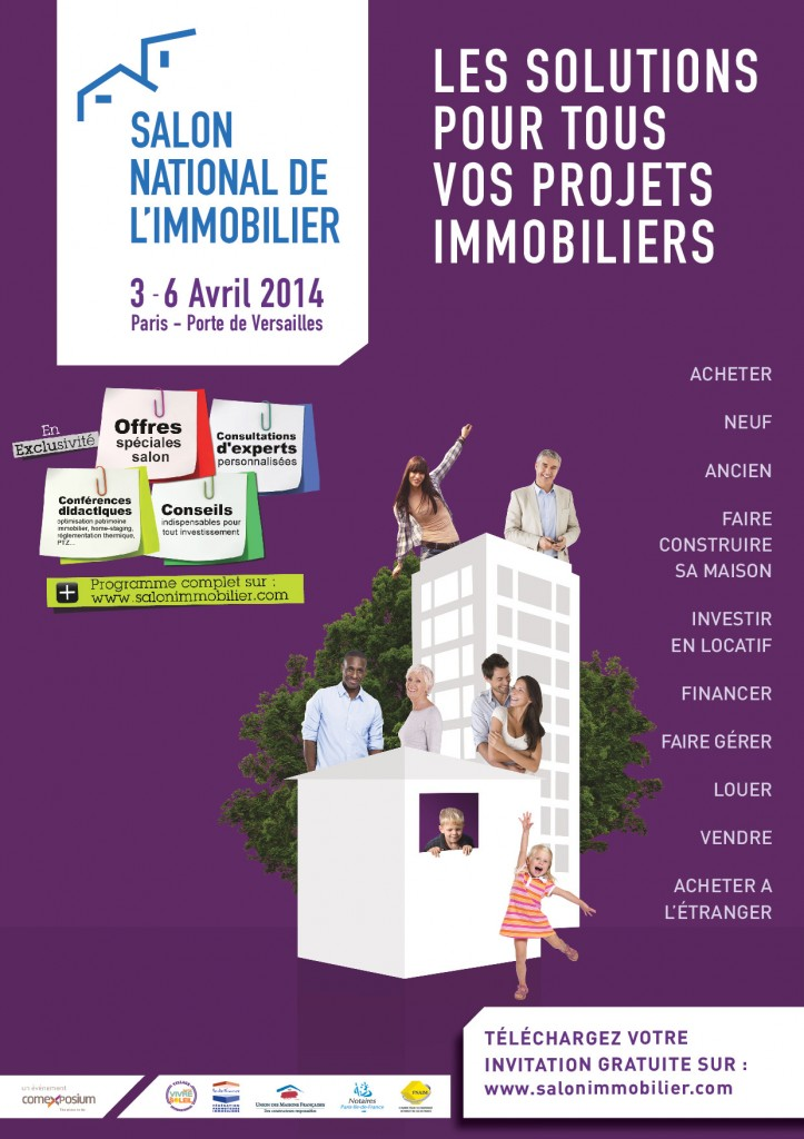 Un village international au salon national de l 39 immobilier for Salon a porte de versaille