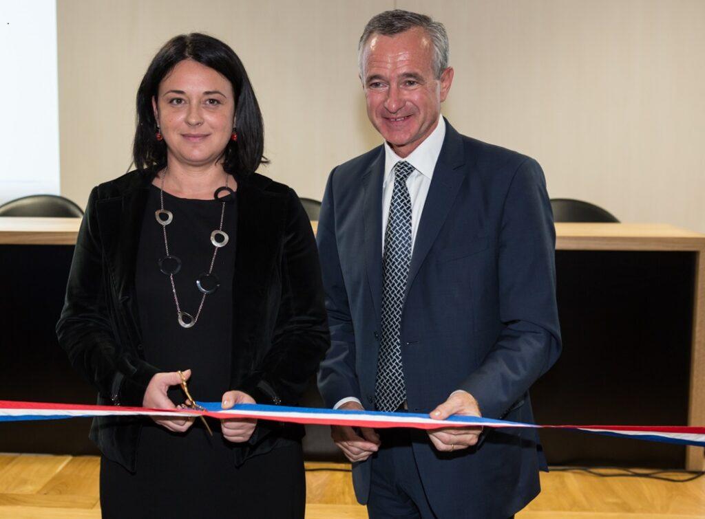 photo : Syvia Pinel, Ministre du Logement et Jean-François Buet, président de la FNAIM JFBuet Inauguration