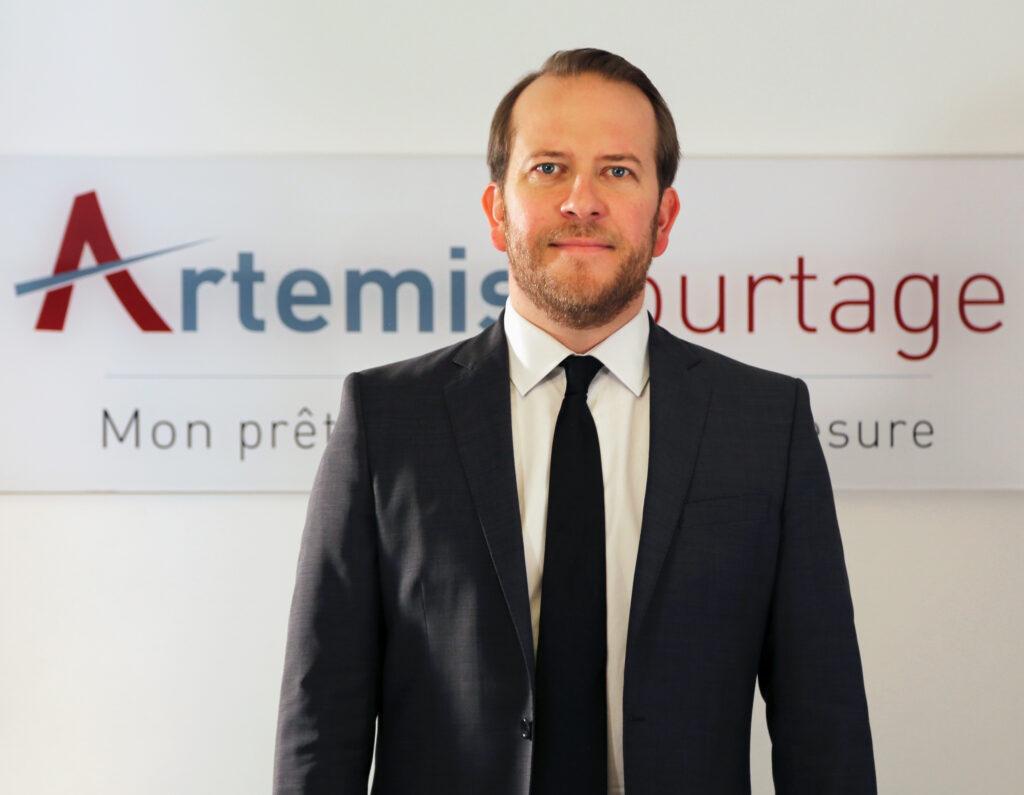 photo : Ludovic Huzieux, directeur associé Artémis Courtage