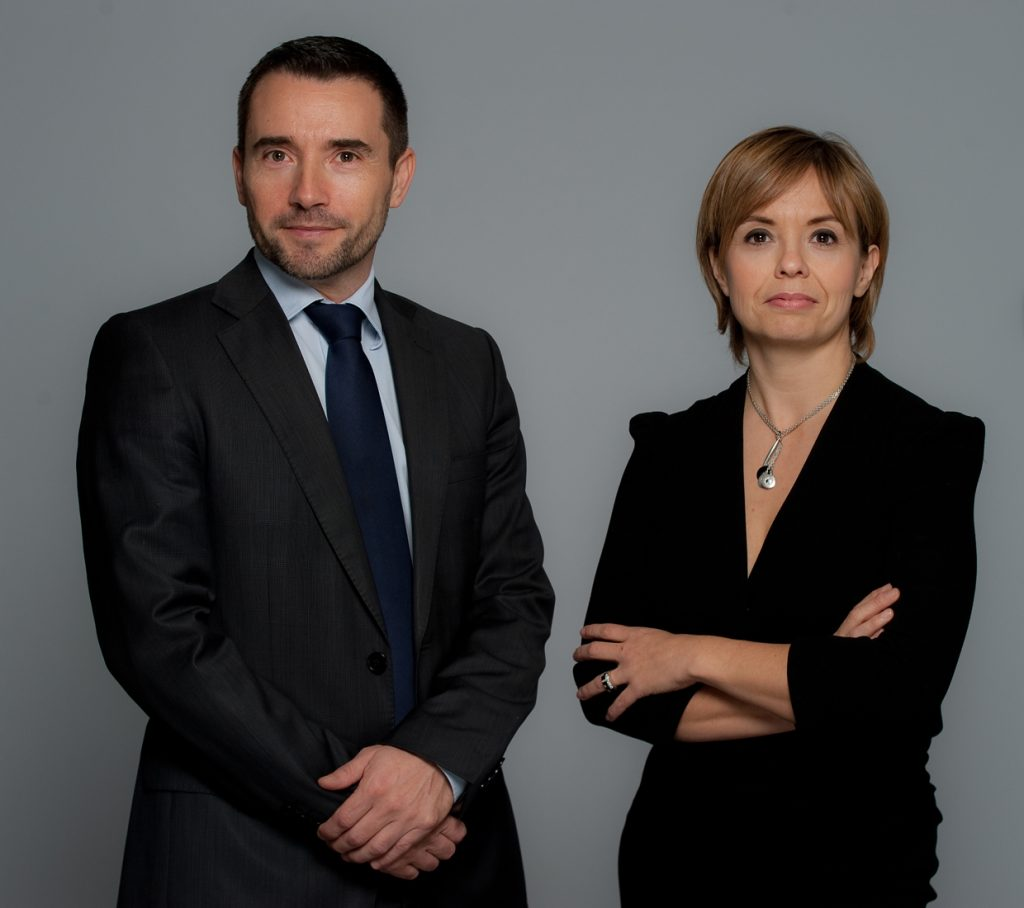 photo : Olivier Alonso et Delphine Rouxel, dirigeants de Solvimo