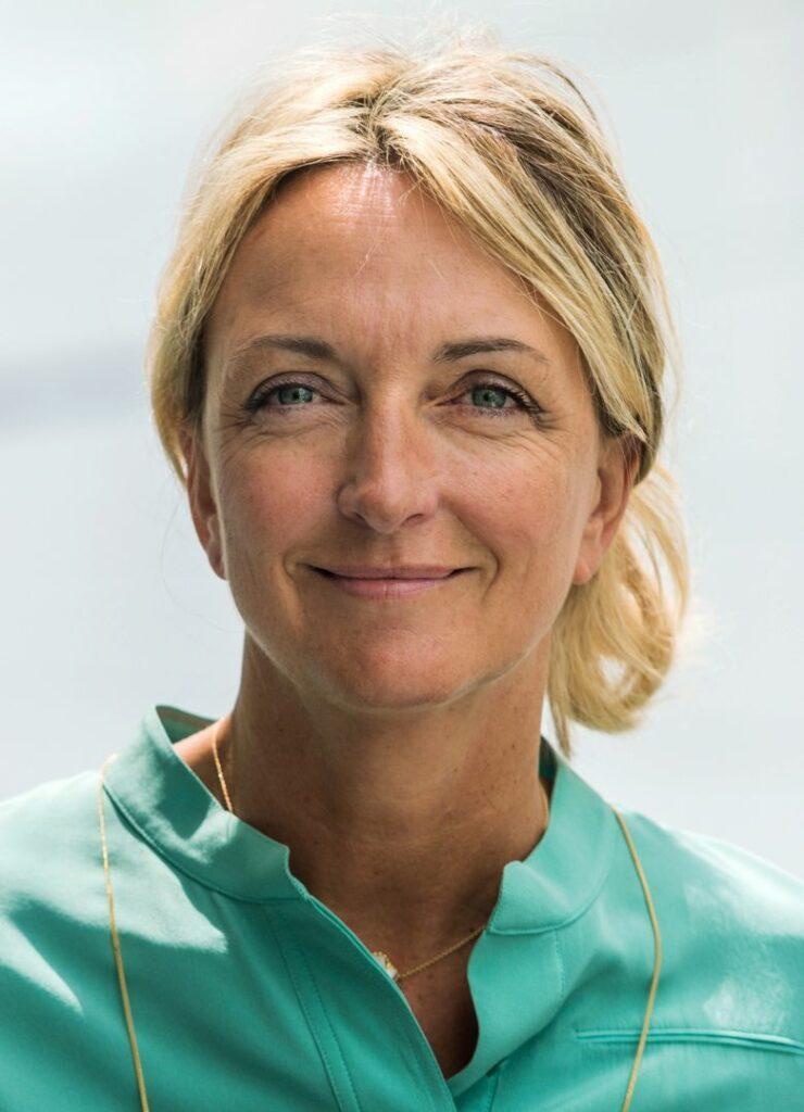 photo : Alexandra François-Cuxac, Présidente de la FPI