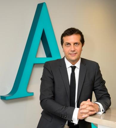 photo : Brice Cardi, président du réseau d'agences immobilières l'ADRESSE