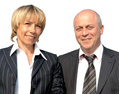 photo : Christine Poirier et Michel Choukroun, cofondateurs d'Arthurimmo.com