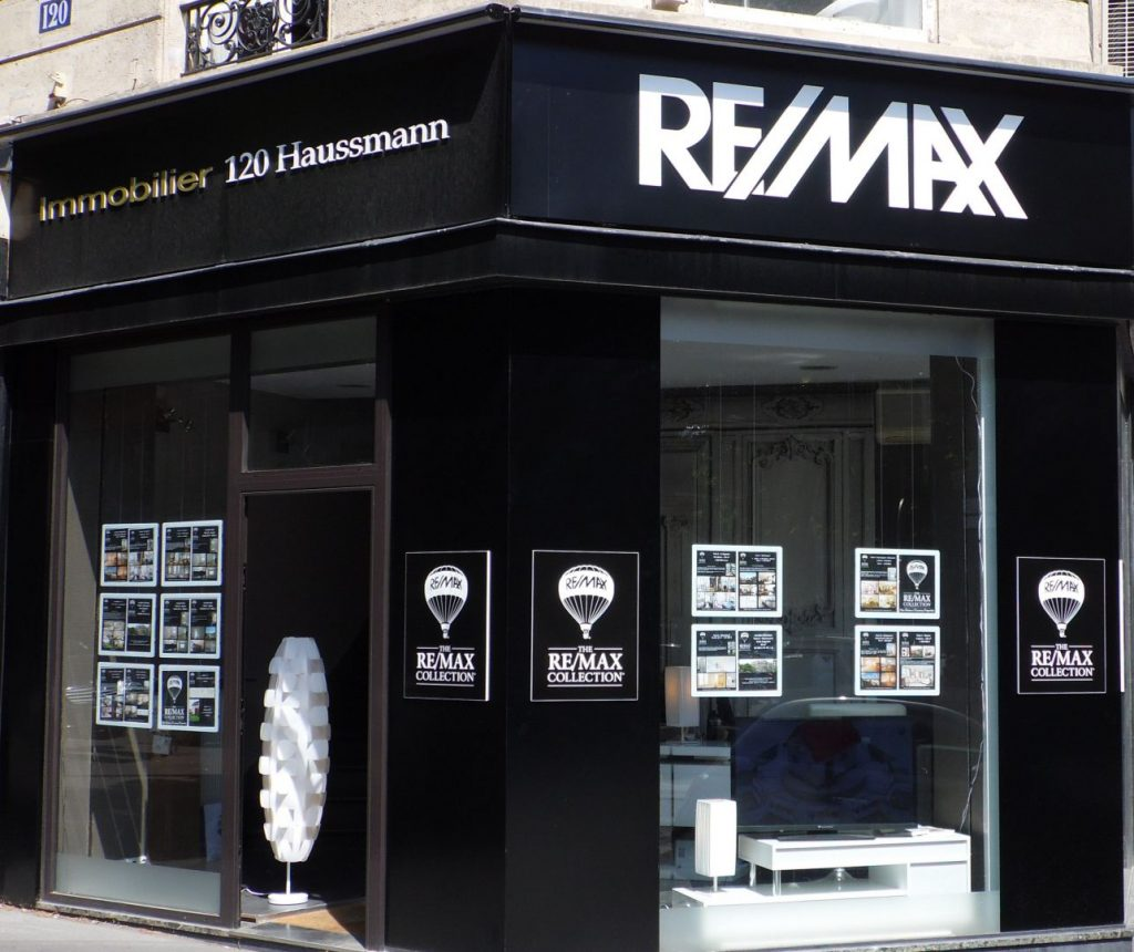 Le r seau d 39 agences immobili res re max france part la conqu te de pari - Part a part immobilier ...