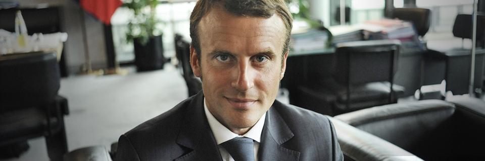 photo : Emmanuel Macron, ministre de l'Economie, de l'Industrie et du Numérique