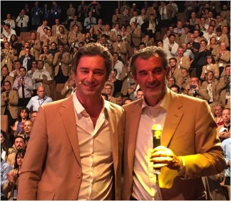 photo : Laurent Solly et Laurent Vimont