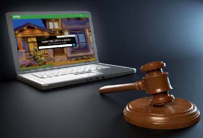 photo enchere immobilier internet
