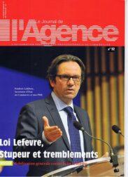 Le Journal de l'Agence n°32