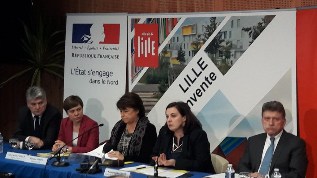 photo : Emmanuelle Cosse et Martine Aubry