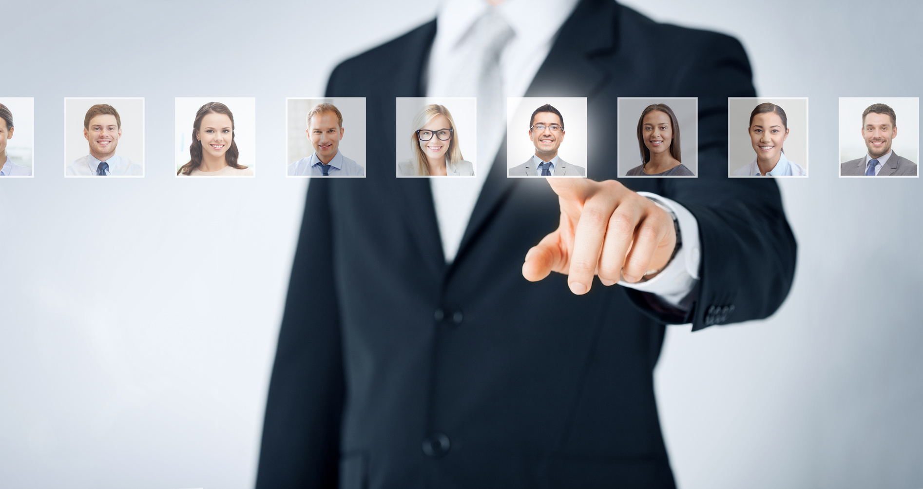 photo : human resources, career and recruitment concept
