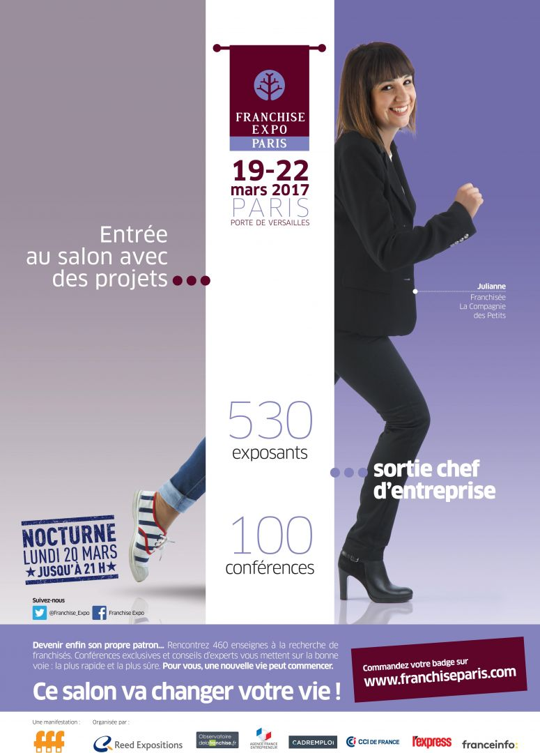 photo : Affiche Franchise Expo 2017