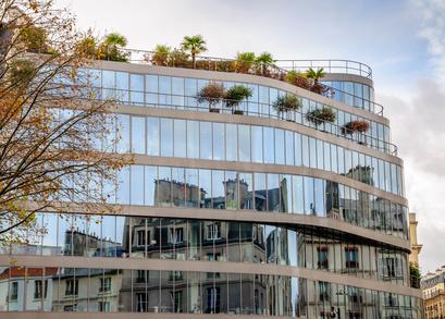 photo : Immeubles modernes et anciens