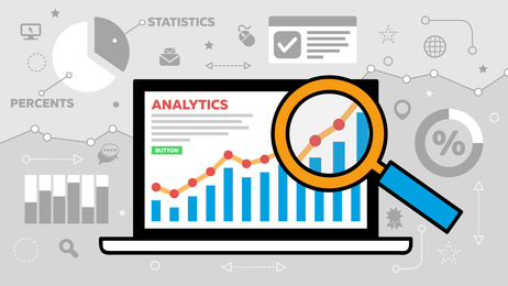 photo : Website Analytics Illustration