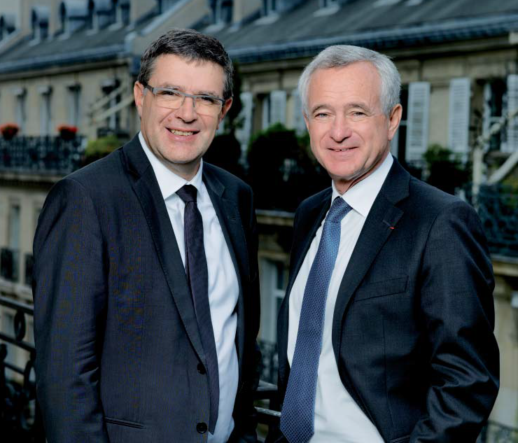 photo : jf buet et jm torrollion journal de l'agence