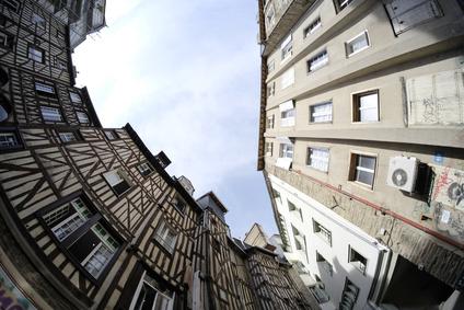 photo : vieux Rennes