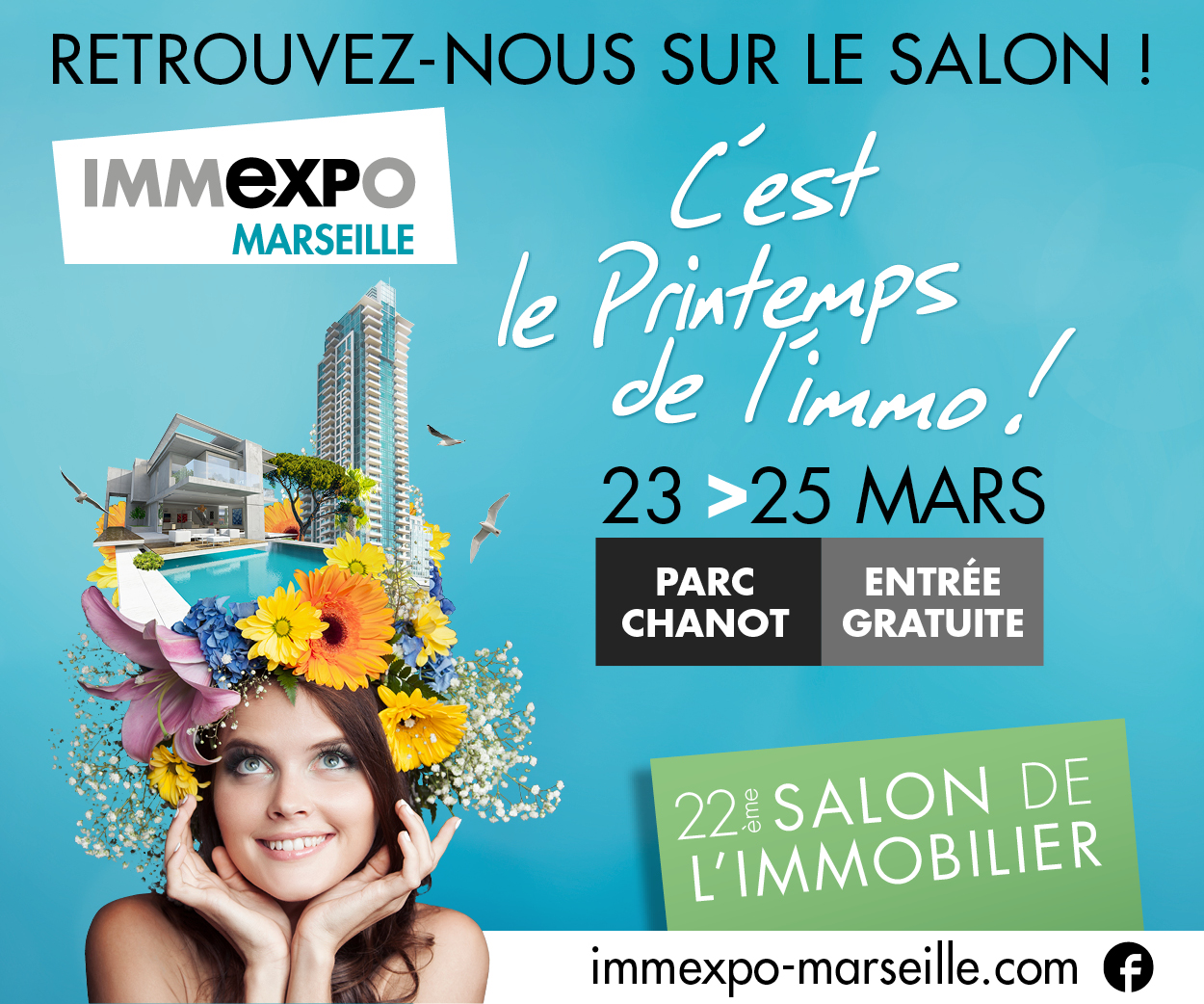 Immexpo marseille se tiendra au parc chanot du 23 au 25 for Salon marseille parc chanot