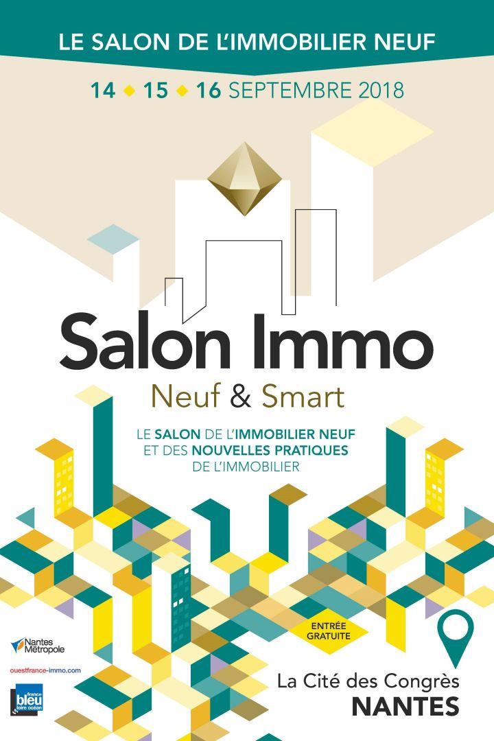 Salon Immo Neuf & Smart du 14 au 16 septembre à la Cité des Congrès de Nantes