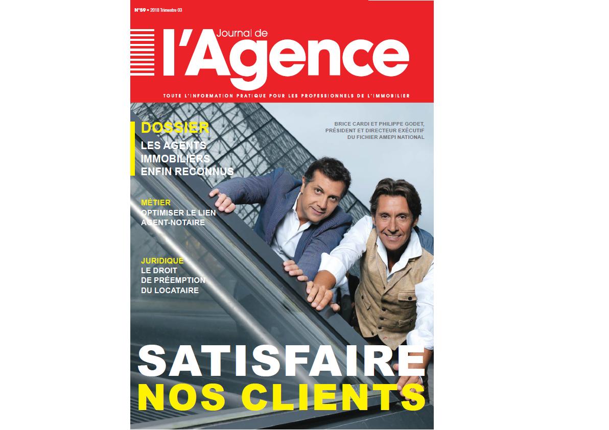 Journal de l'Agence N°59 : Historique !