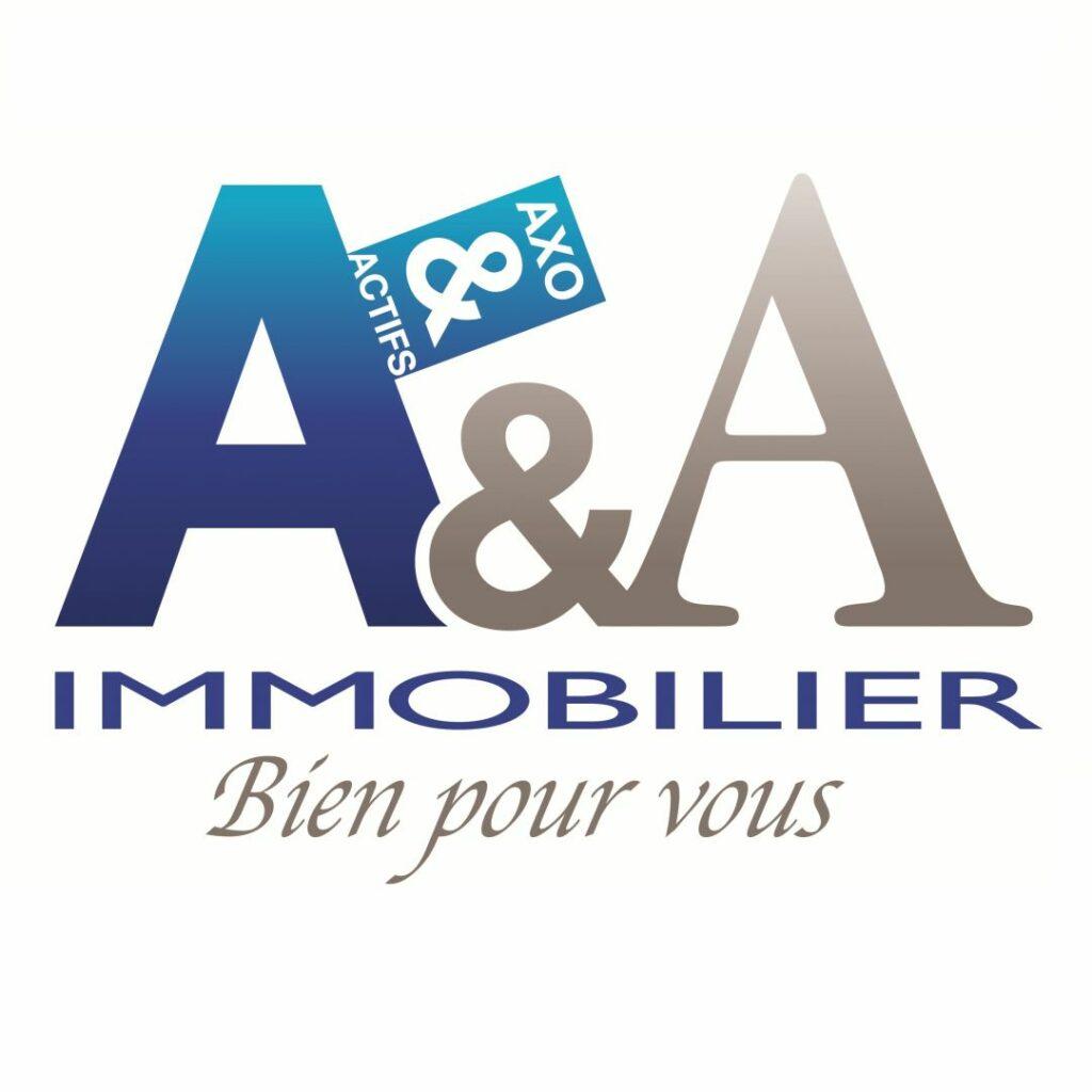 photo : Logo_A&A Immobilier_Bien pour vous_carré