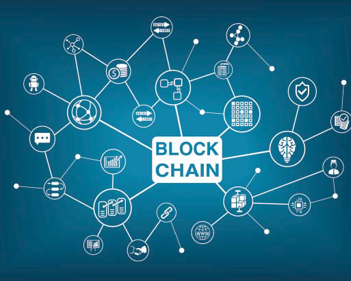 photo : blockchain journal de l'agence