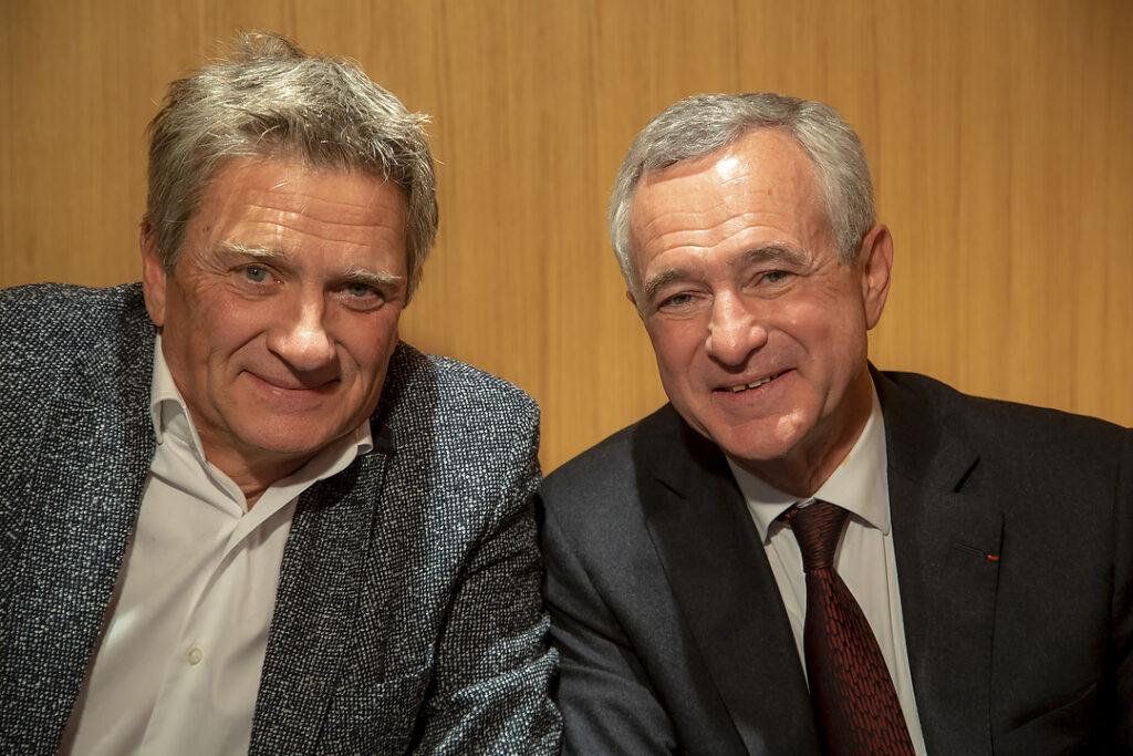 photo : Bernard Cadeau et Jean François Buet