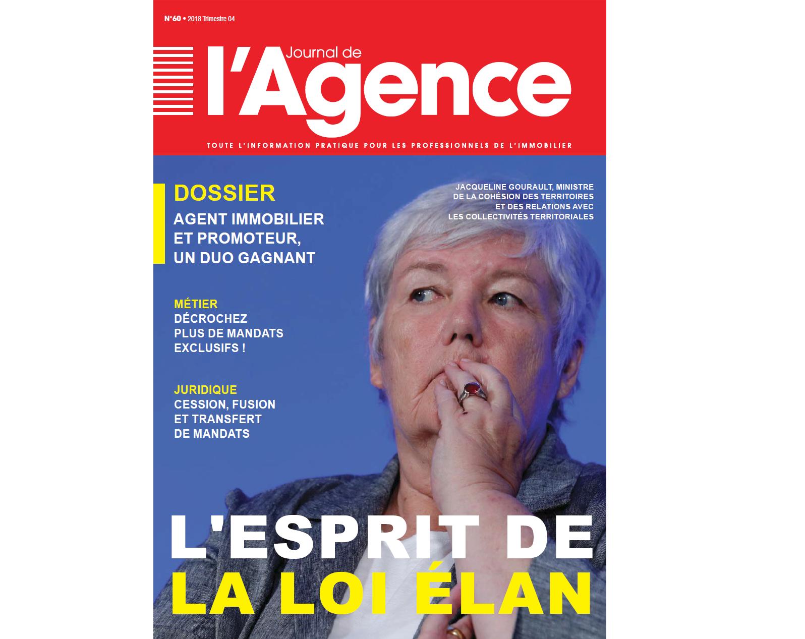 Journal de l'Agence N°60  : Merci pour votre fidélité !