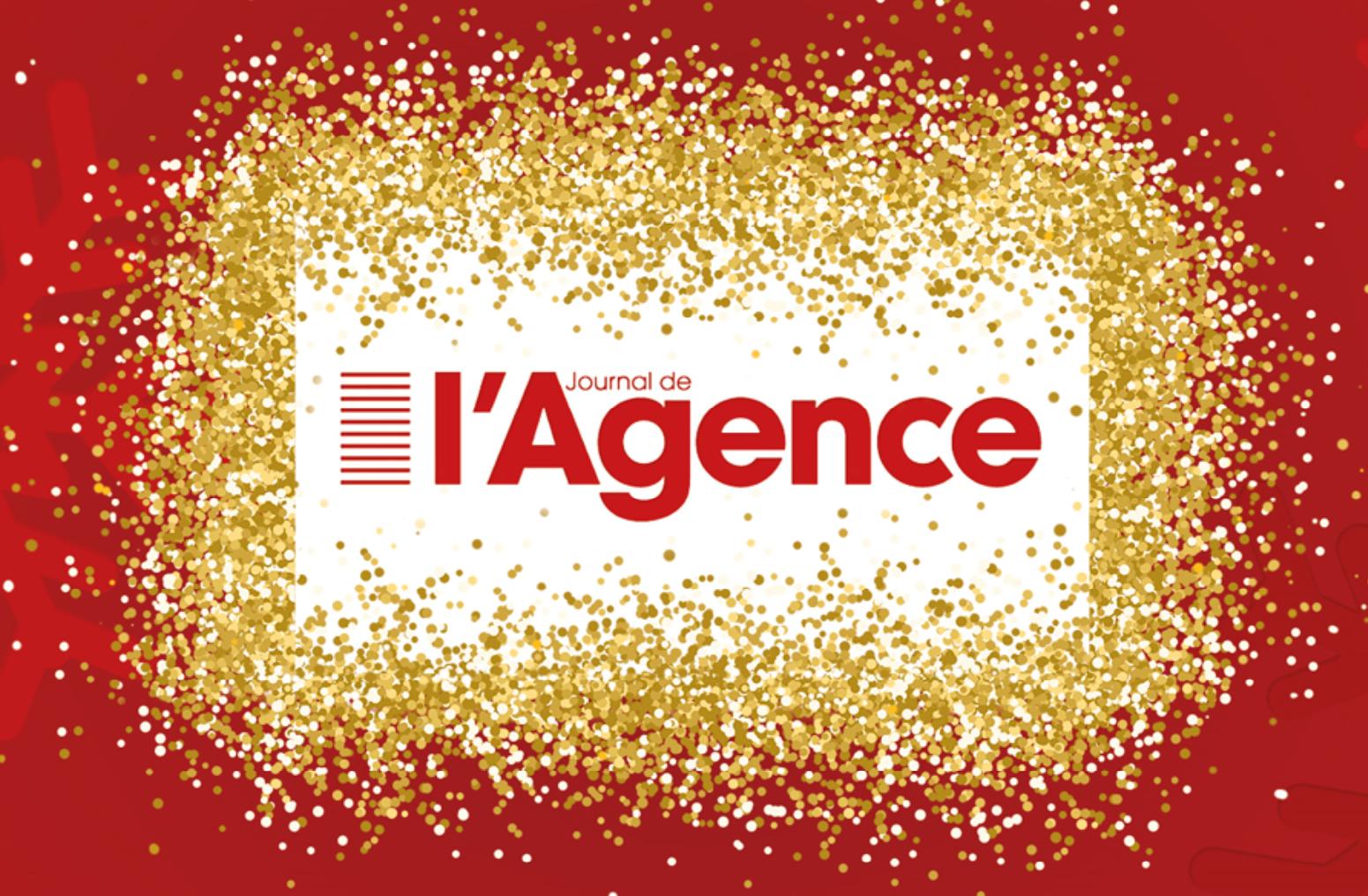 Le Journal de l'Agence vous souhaite une excellente année 2019