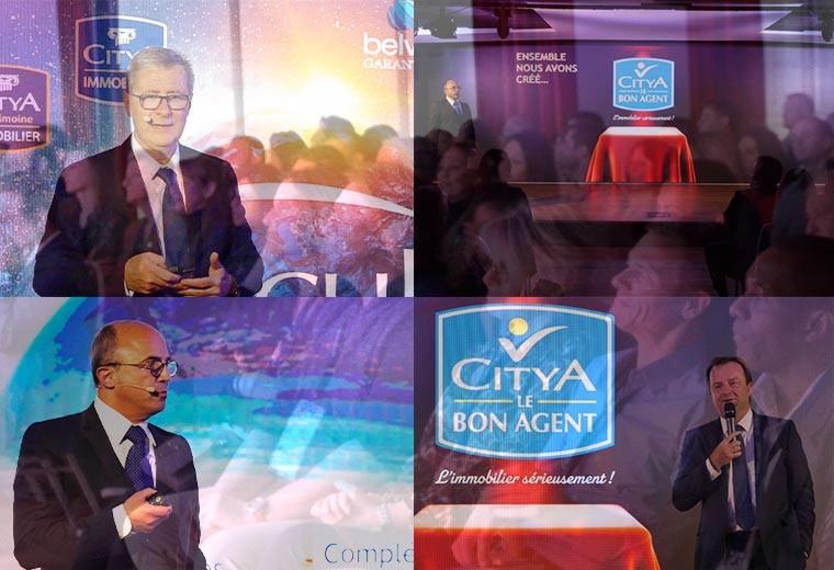 Citya investit dans le réseau de mandataires Le Bon Agent !