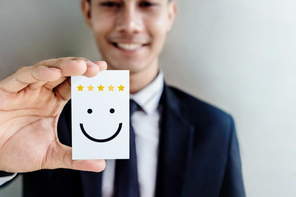 photo : satisfaction client