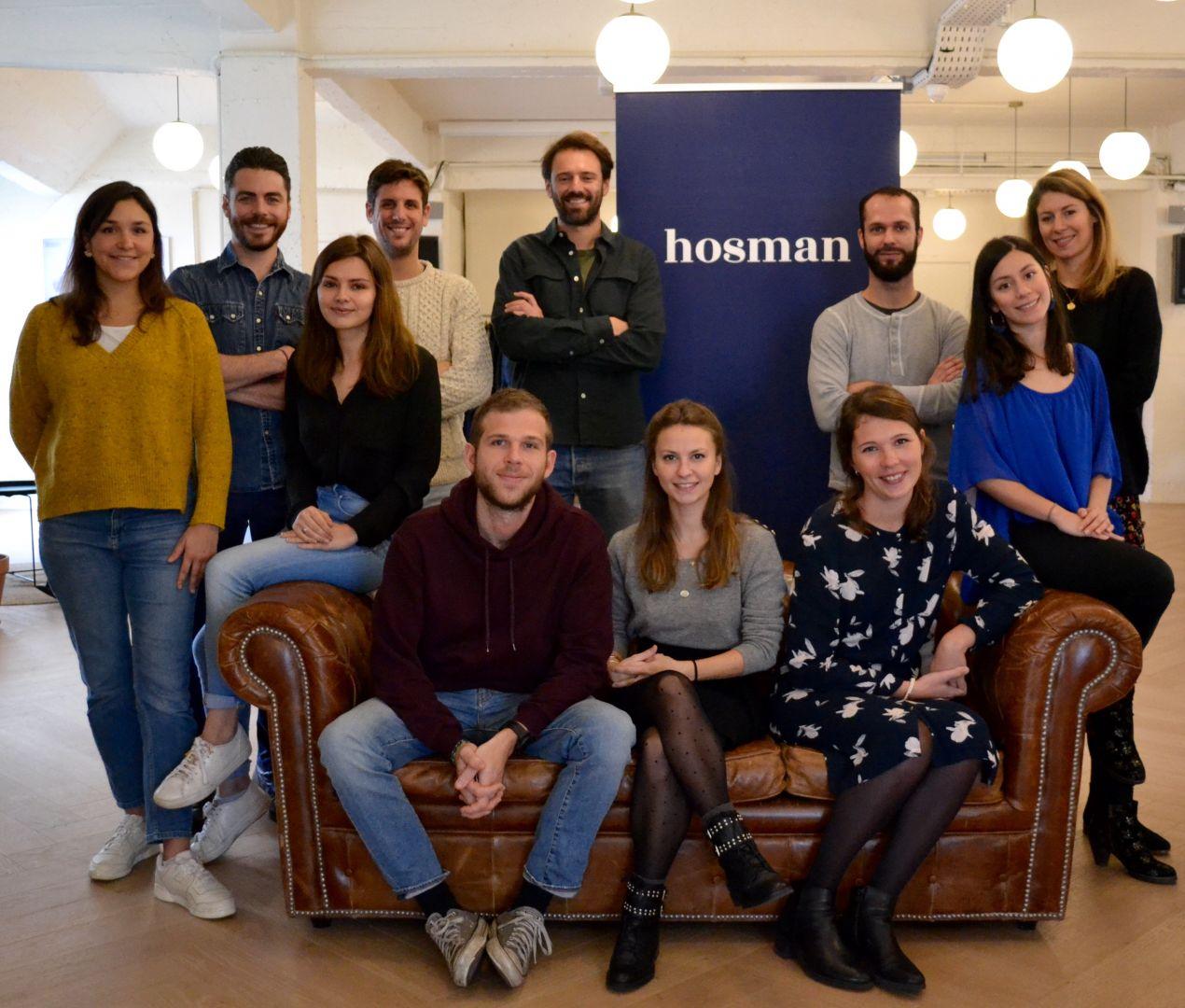 La startup Hosman ouvre 30 postes en 2019
