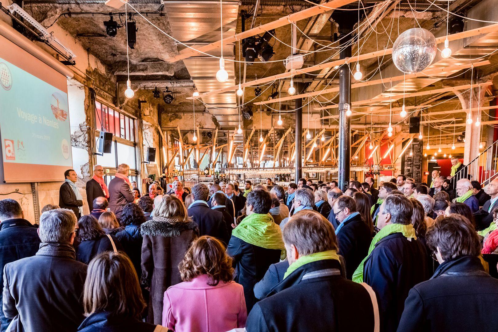 Retour sur le 26 ème voyage d'étude du Club des Clubs Immobiliers à Nantes