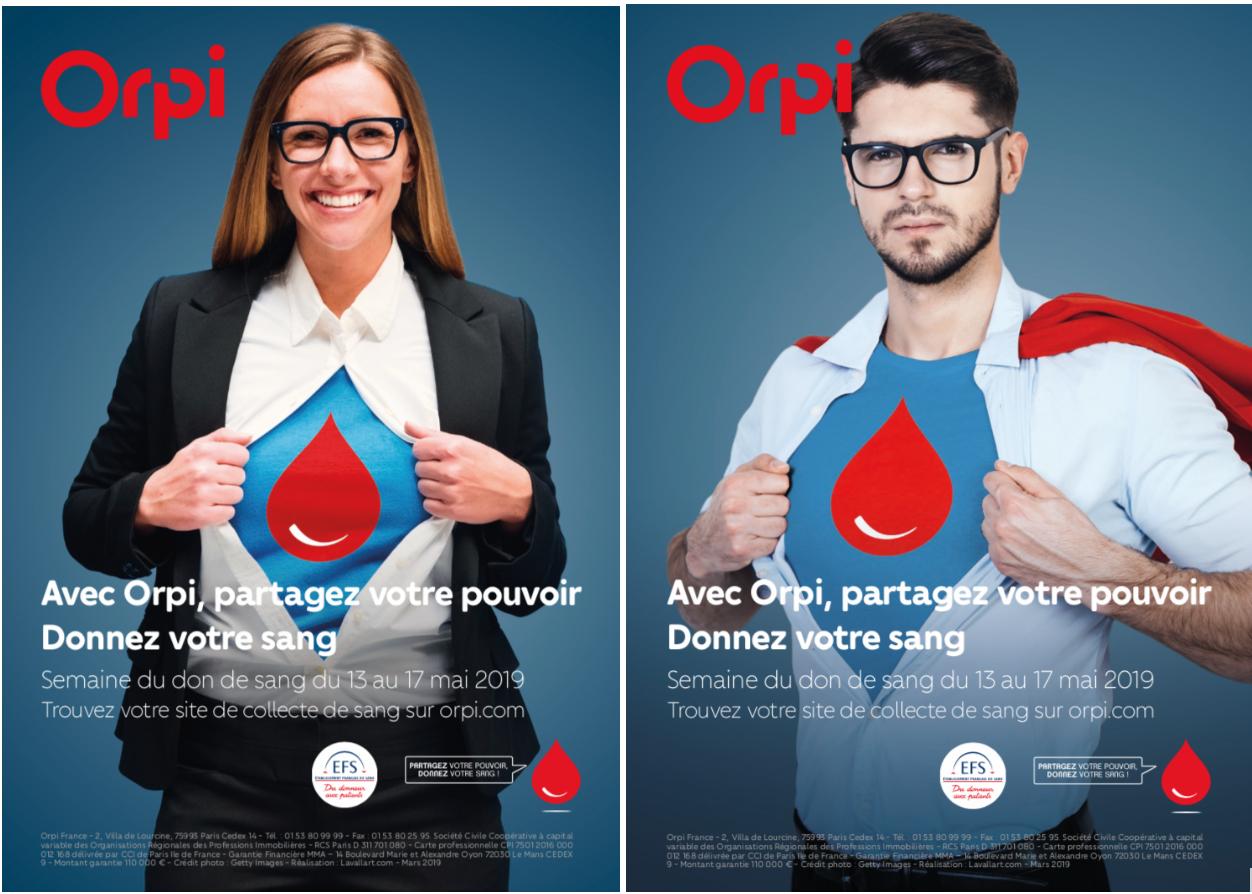 ORPI s'engage auprès de l'EFS et organise une large collecte de don de sang dans 15 villes de France