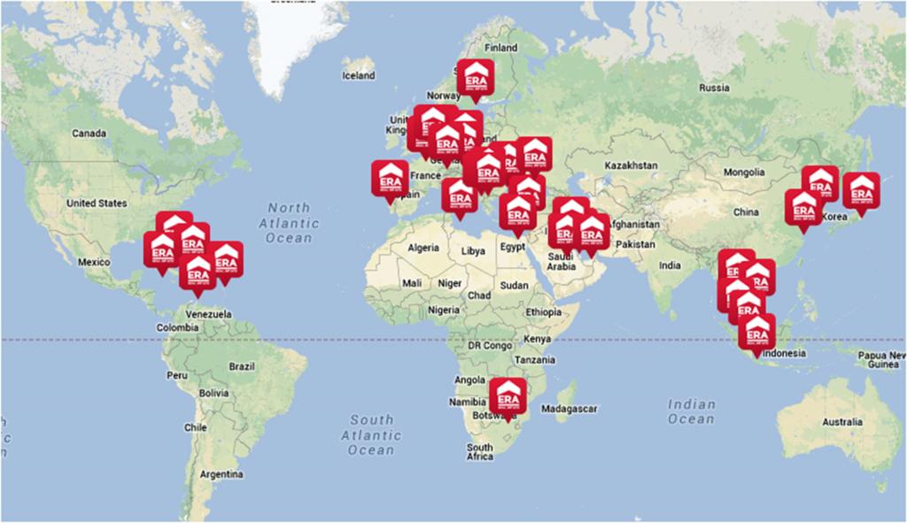 35 nouvelles agences ERA en France depuis le début de l'année