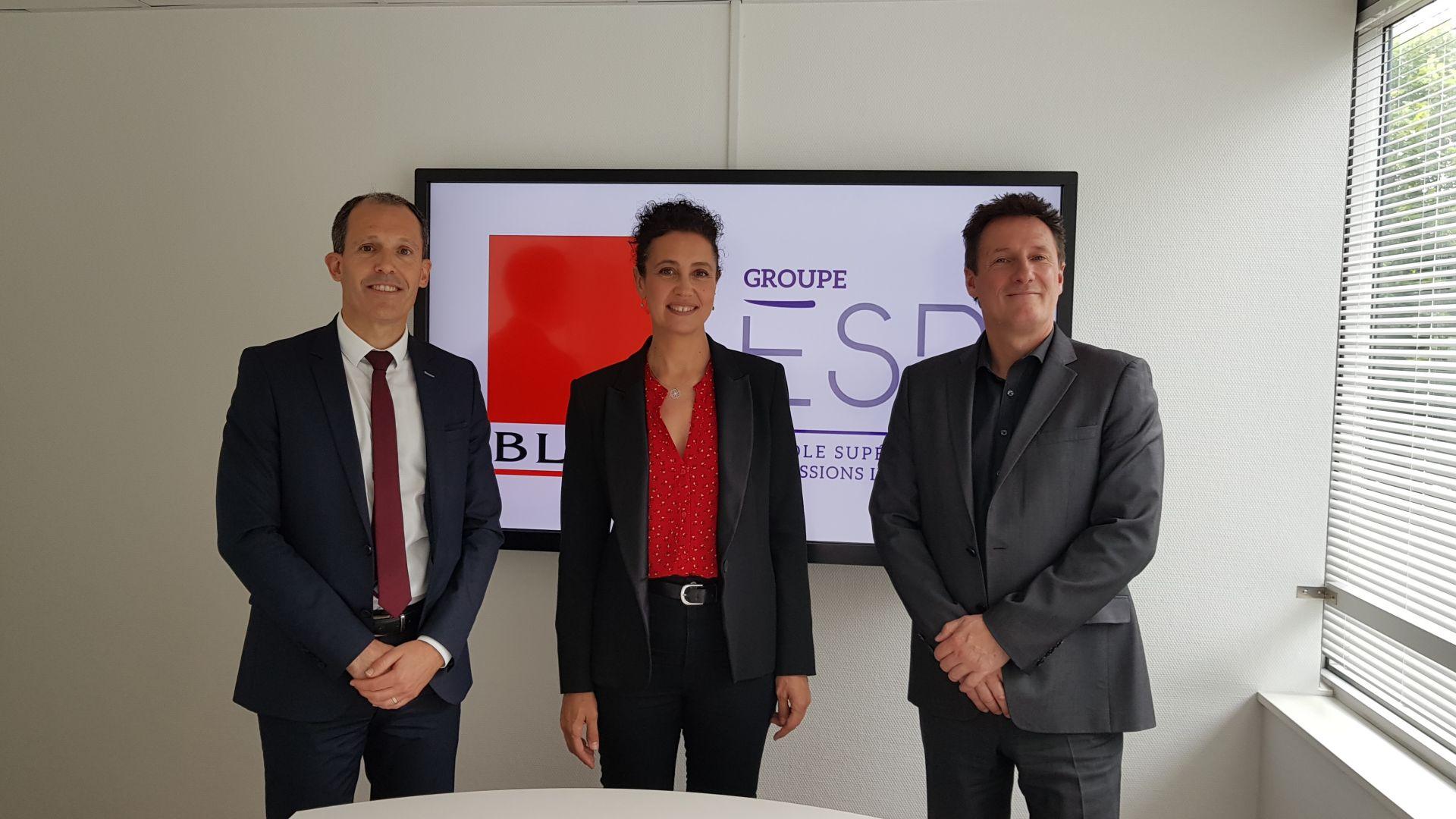 Le Groupe ESPI signe un partenariat avec le Groupe Blot immobilier.