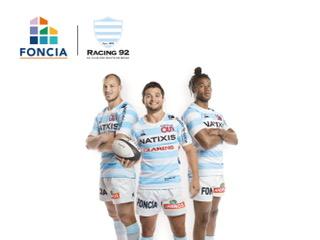 Foncia renouvelle son partenariat rugby avec le Racing 92 pour trois saisons