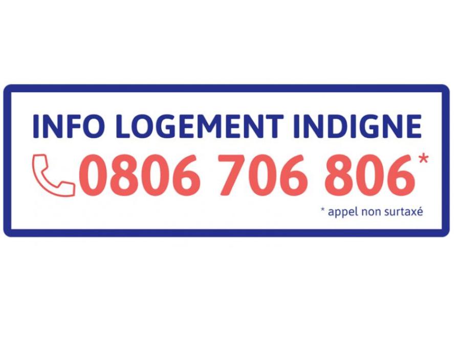 0806 706 806 : le numéro « INFO LOGEMENT INDIGNE » !