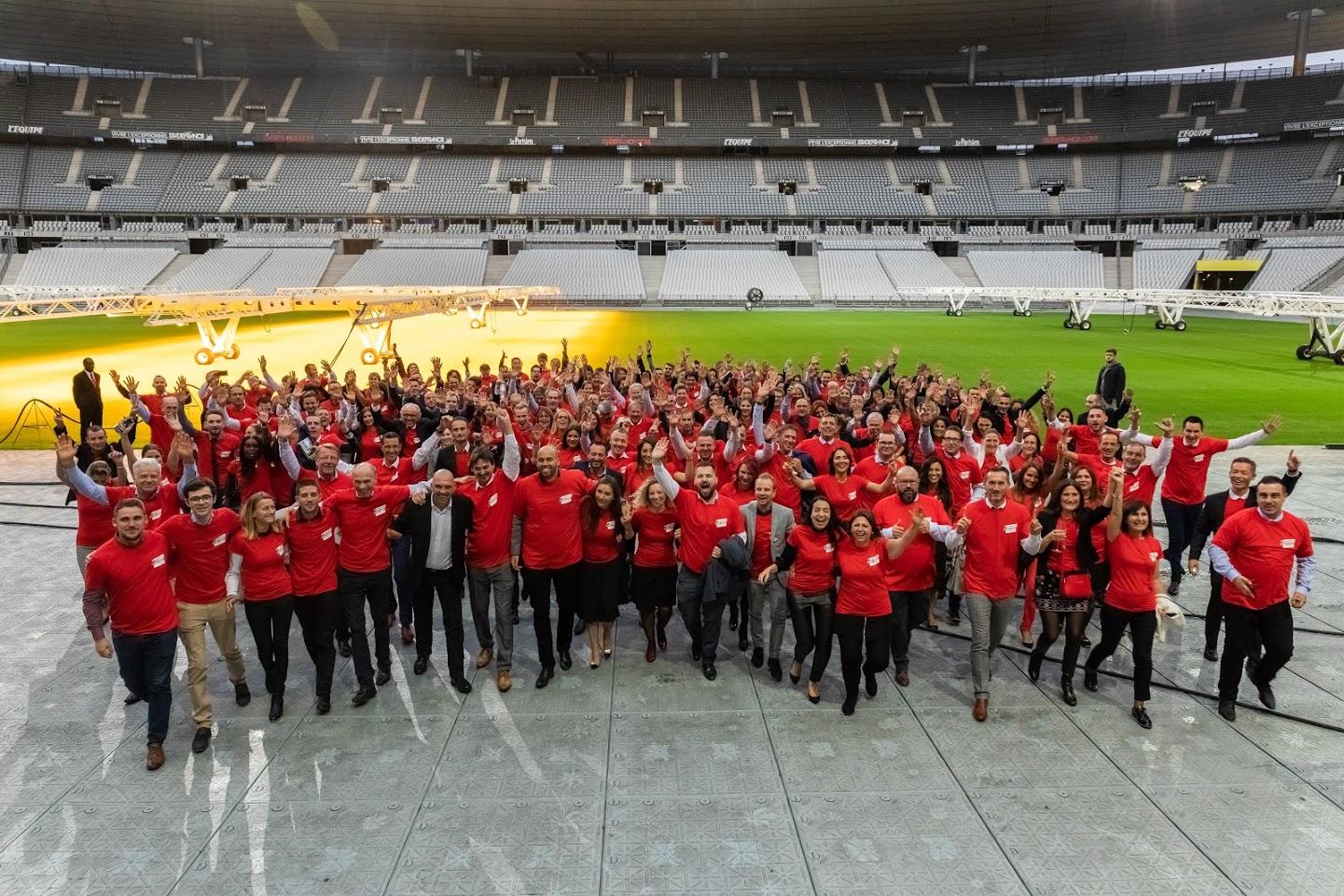 Le 4 octobre dernier, Keymex organisait sa toute première Convention Nationale au Stade France !
