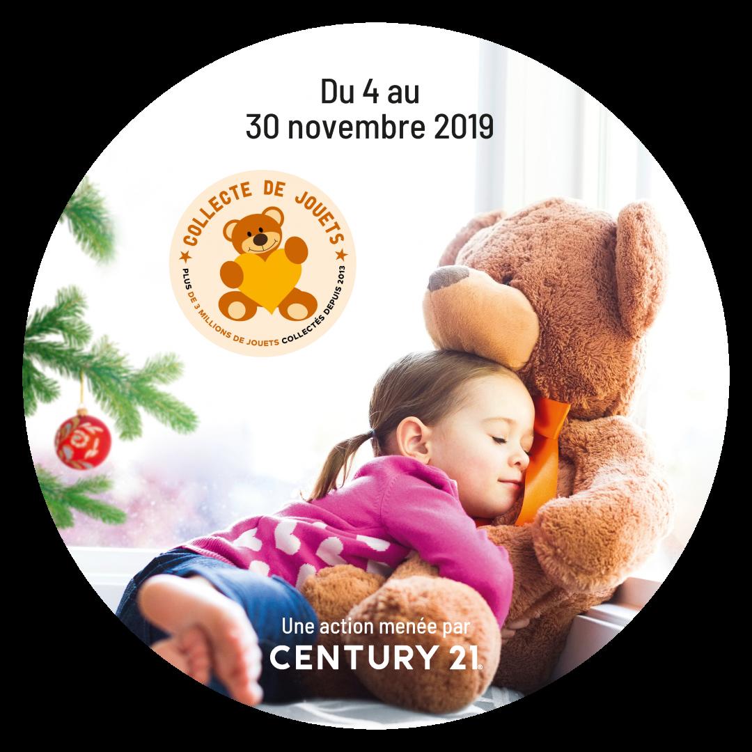 Century 21 lance la 7ème opération nationale de collecte de jouets