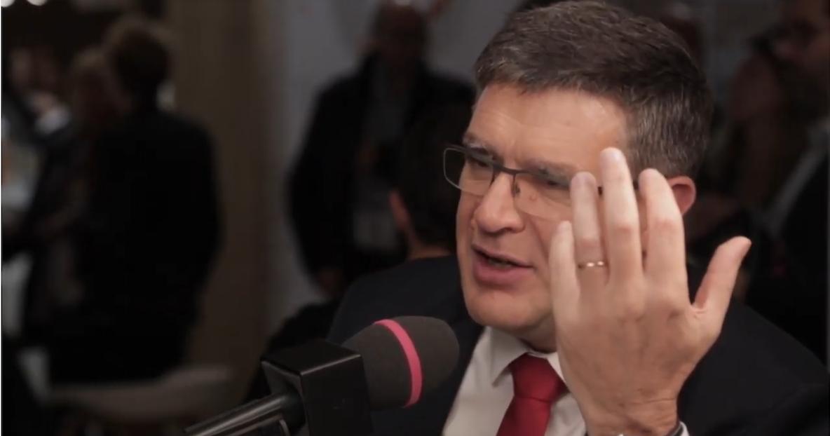 Jean-Marc Torrollion : «Le Caducée ovationné au Congrès FNAIM»