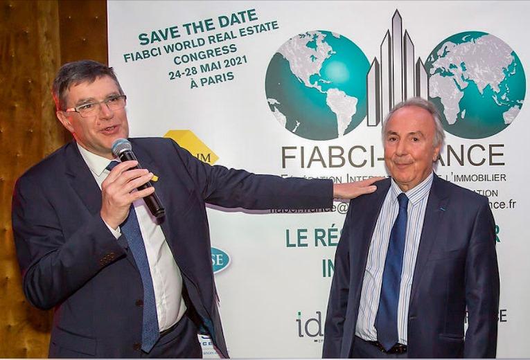 Fiabci France Busines Networking : Carton plein pour la soirée des vœux des syndicats professionnels!