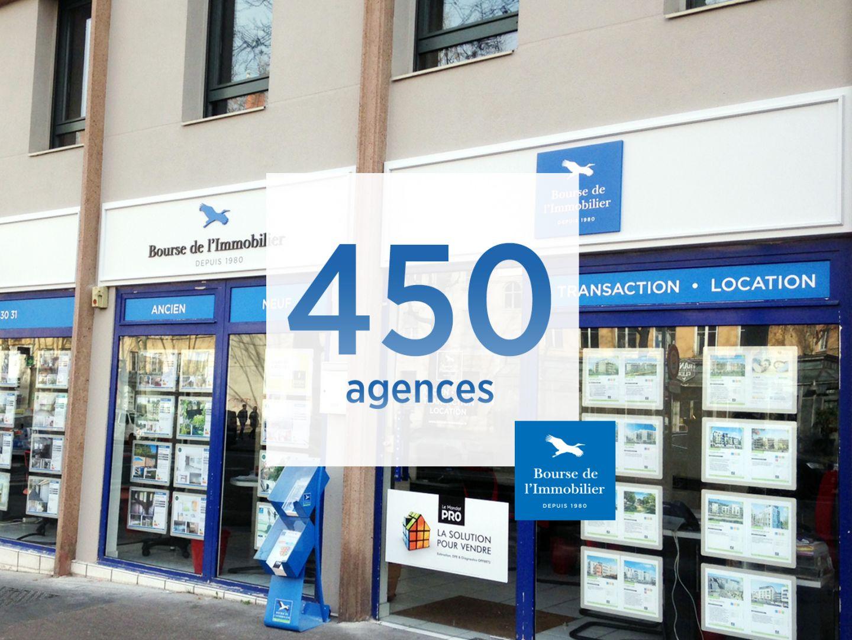 La Bourse de l'immobilier ouvre sa 450ème agence immobilière