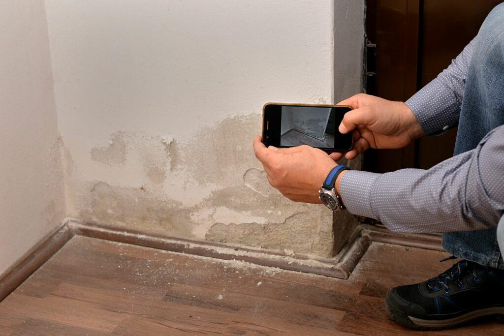 photo : infiltrations d'eau
