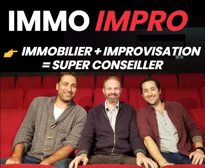 «Immo Impro» un atelier d'improvisation dédié aux conseillers immobiliers, Karine Mahieux Social Media Manager