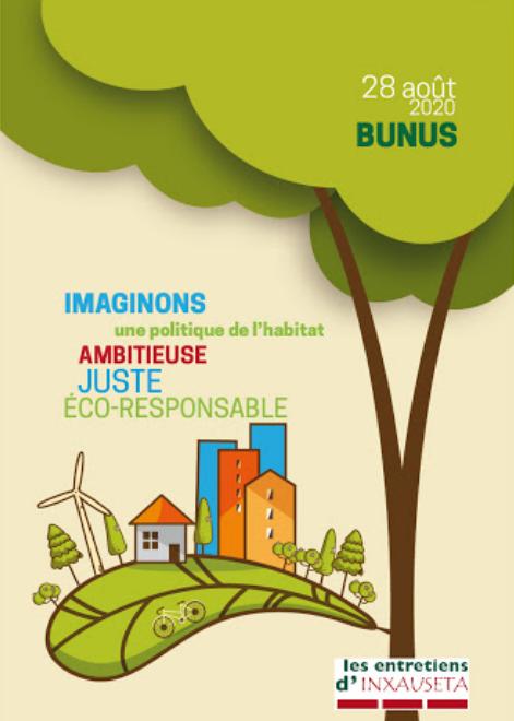 Entretiens d'Inxauseta 2020 : Quelle place pour le logement dans la France de demain ?