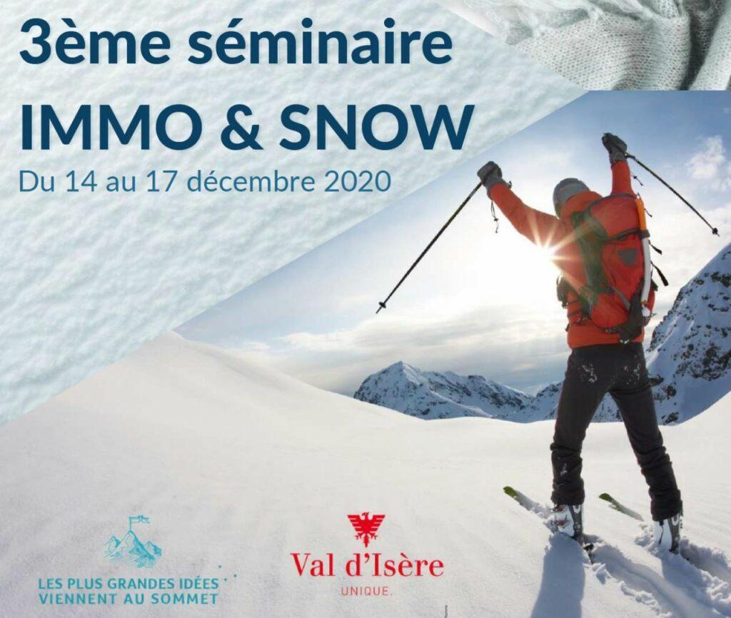 photo : visuel seminaire immo & snow