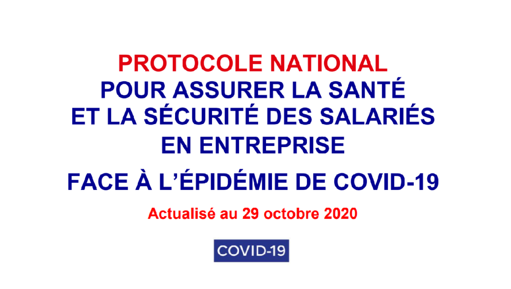 photo : protocole national