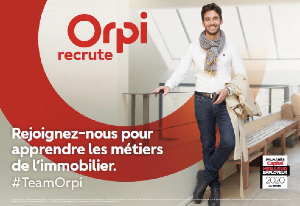 Orpi lance sa campagne de recrutements
