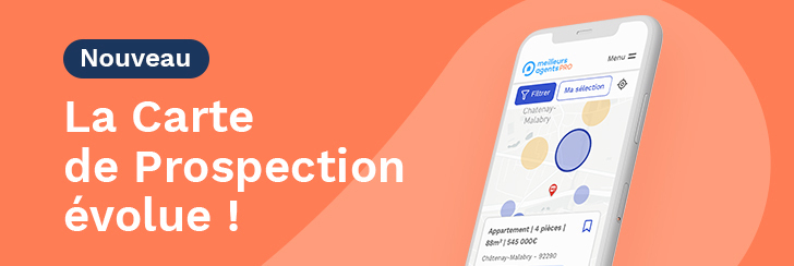 Meilleurs Agents enrichit sa Carte de Prospection pour une prospection terrain plus efficace